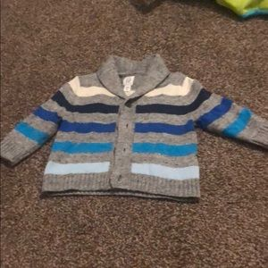 Baby Button Up Cardigan